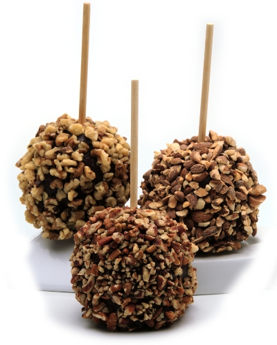 Medium Nut Chocolate Apples Trio