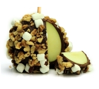 Rocky Road Chocolate Apple
